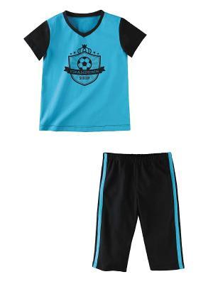Комплект одежды Наша Мама. Цвет: синий, голубой