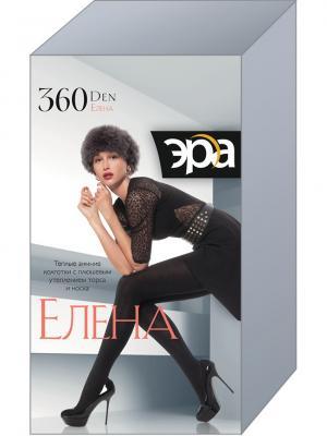 Колготки женские  Елена 360 ЭРА.. Цвет: черный