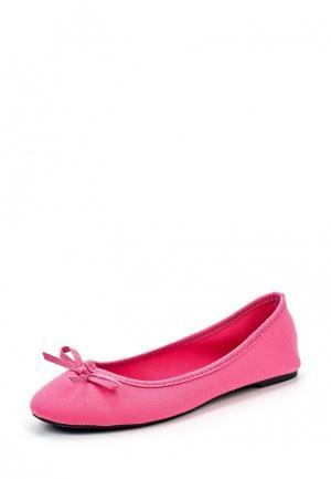 Балетки Modis. Цвет: розовый