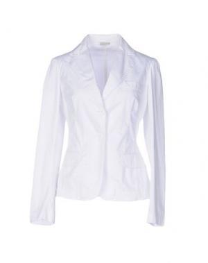 Пиджак ENTRE AMIS. Цвет: белый