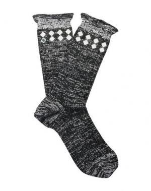 Короткие носки BENEDICT. Цвет: черный