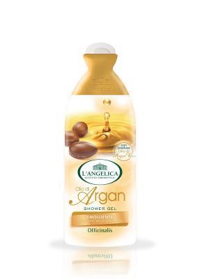 Гель для ванны и душа  c аргановым маслом, 250 мл L'Angelica. Цвет: молочный