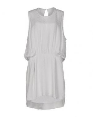 Платье до колена MARTA MARTINO. Цвет: светло-серый