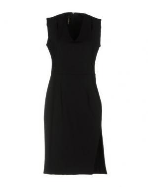 Короткое платье LUNATIC. Цвет: черный