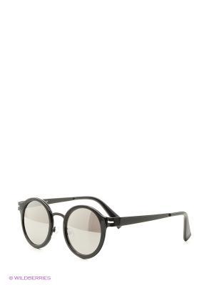 Солнцезащитные очки Vita pelle. Цвет: черный, серый