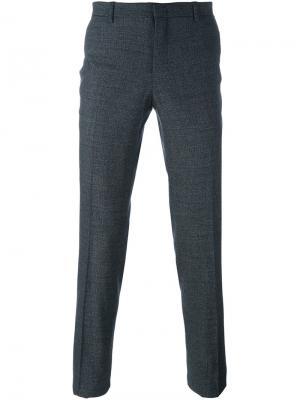 Классические брюки Wooyoungmi. Цвет: серый