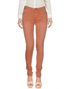 Повседневные брюки GARCIA JEANS. Цвет: ржаво-коричневый
