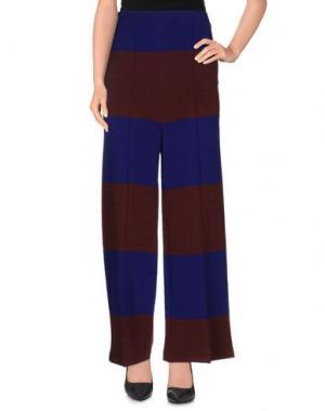 Повседневные брюки .TESSA. Цвет: красно-коричневый