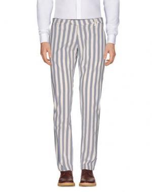 Повседневные брюки MICHAEL COAL. Цвет: слоновая кость