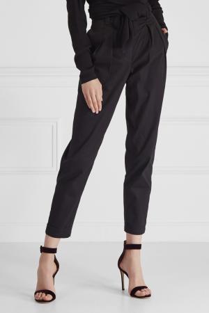 Хлопковые брюки Cyrille Gassiline. Цвет: черный
