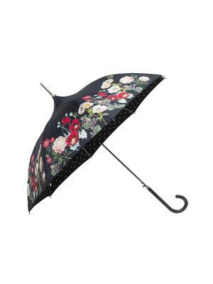Зонт-трость MollyMarais. Цвет: черный, зеленый, красный