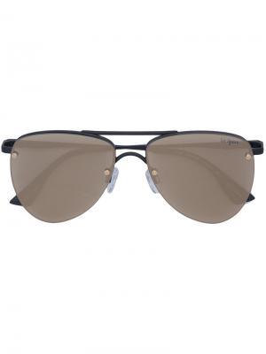 Солнцезащитные очки  Prince Le Specs. Цвет: жёлтый и оранжевый