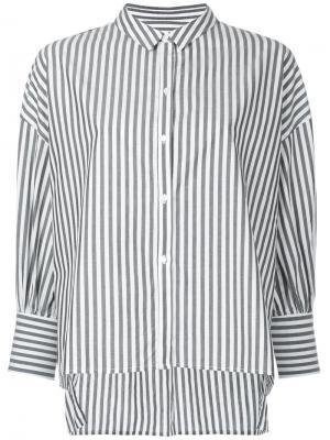 Рубашка Fulton Nili Lotan. Цвет: серый