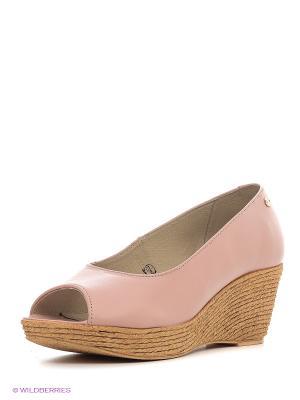Туфли ЭГО. Цвет: розовый