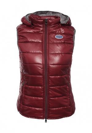 Куртка Frank NY. Цвет: бордовый