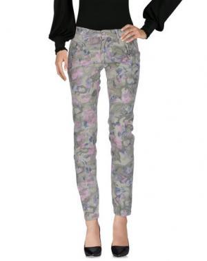 Повседневные брюки 40WEFT. Цвет: светло-зеленый