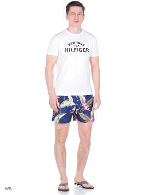 Плавательные шорты Tommy Hilfiger. Цвет: темно-синий