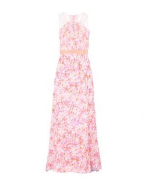 Длинное платье PATRIZIA PEPE SERA. Цвет: розовый