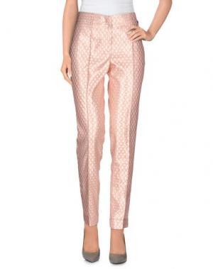 Повседневные брюки PETITE COUTURE by CHIARA CUCCONI. Цвет: розовый