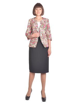 Жакет Томилочка Мода ТМ. Цвет: светло-коралловый