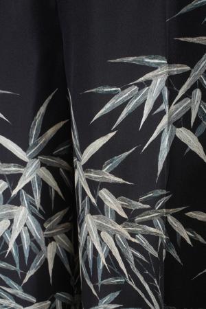 Шелковые брюки Philosophy Di Lorenzo Serafini. Цвет: черный, разноцветный
