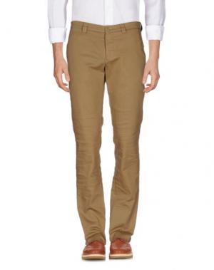 Повседневные брюки SALVATORE PICCOLO. Цвет: хаки