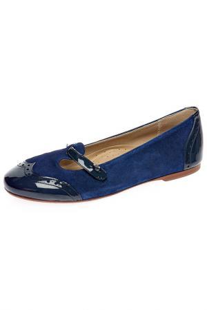 Туфли Eli. Цвет: синий