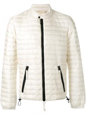 Куртка с узким воротником-стойкой Duvetica. Цвет: белый