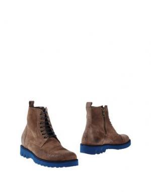 Полусапоги и высокие ботинки GABARDINE. Цвет: хаки