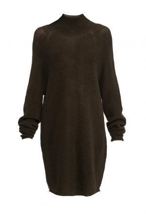 Туника из шерсти 153301 Norsoyan. Цвет: коричневый