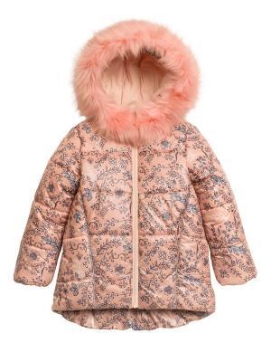 Пальто PELICAN. Цвет: персиковый