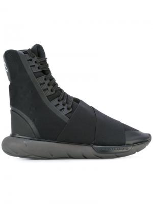 Кроссовки Qasa Boot Y-3. Цвет: чёрный