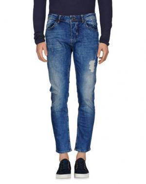 Джинсовые брюки SSEINSE. Цвет: синий