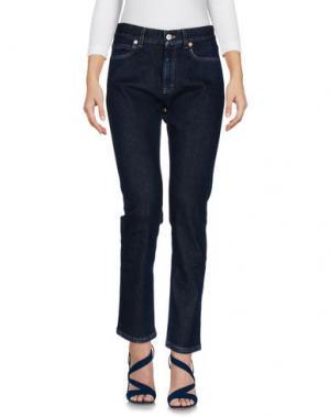 Джинсовые брюки GUCCI. Цвет: синий