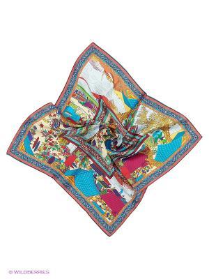 Платки Vita pelle. Цвет: синий, коричневый, терракотовый
