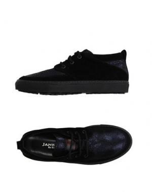 Низкие кеды и кроссовки JANEMOX BY RIGHI JR. Цвет: черный