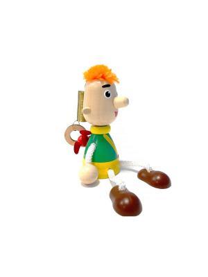 Игрушка подвеска на пружине - Карлсон Taowa. Цвет: зеленый, желтый