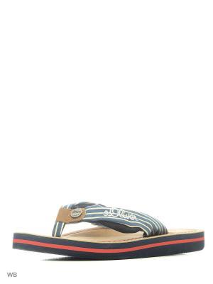 Пантолеты S.OLIVER. Цвет: коричневый, синий