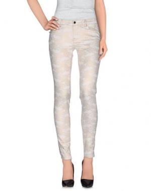 Повседневные брюки TRAMAROSSA. Цвет: слоновая кость