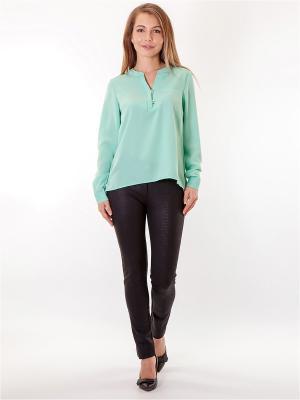 Блузка HELLO MODA!. Цвет: светло-зеленый