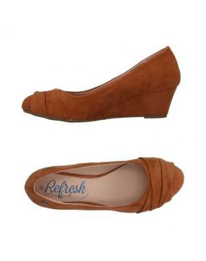 Туфли REFRESH. Цвет: коричневый
