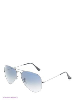 Солнцезащитные очки Ray Ban. Цвет: темно-серый