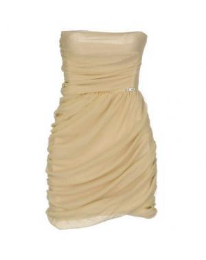 Короткое платье KORALLINE. Цвет: песочный