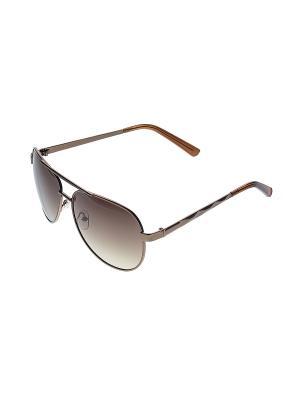 Солнцезащитные очки Infiniti. Цвет: коричневый, черный