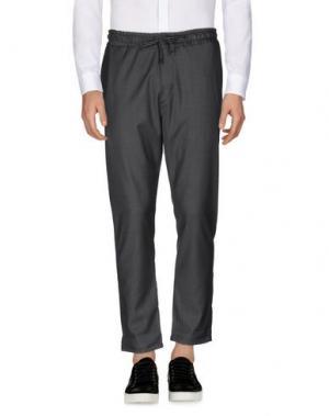 Повседневные брюки EXIBIT. Цвет: серый