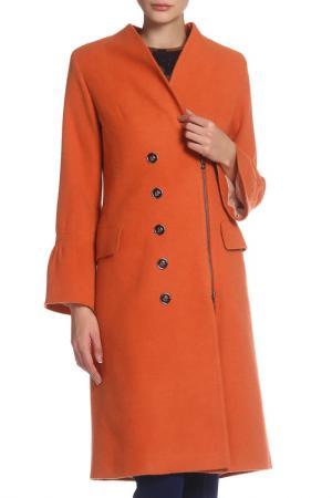 Пальто BGN. Цвет: orange