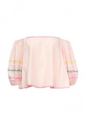 Блуза Imocean. Цвет: розовый