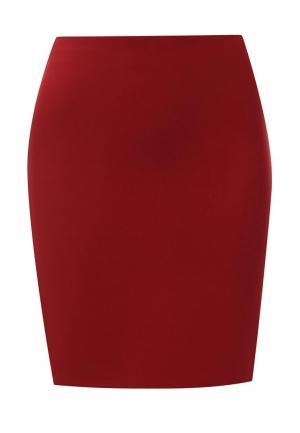 Юбка adL. Цвет: красный