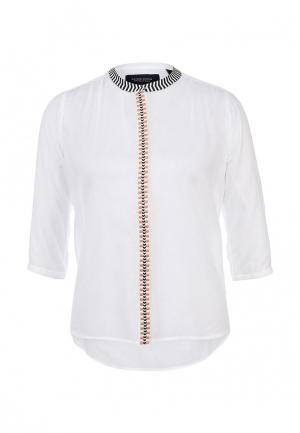 Блуза Maison Scotch. Цвет: белый