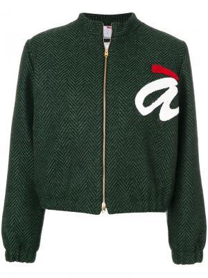 Куртка на молнии Ultràchic. Цвет: зелёный